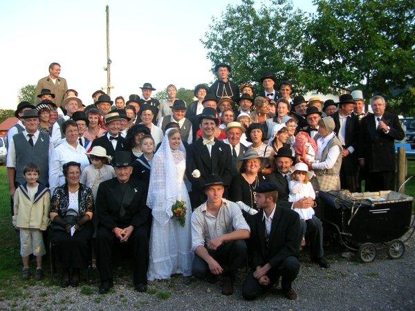 Magnifique mariage des ann es 30 pour adam et eve le petit journal du girmont - Mariage annee 20 ...